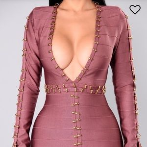 860b32eef7b3 Fashion Nova Dresses   Zarah Bandage Dress   Poshmark
